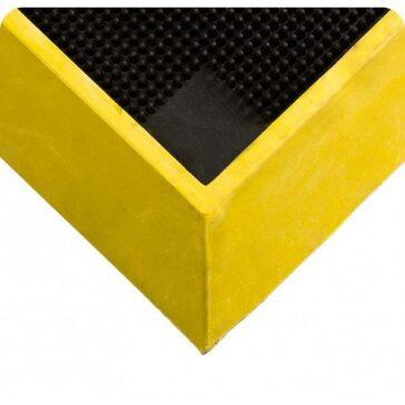 Sanitizing Footbath Tall Wall Yellow Border