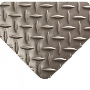Diamond Plate Floor Runner Grey