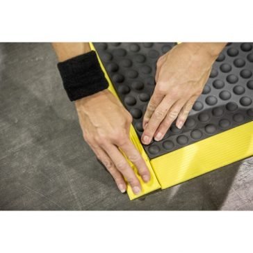 Rejuvenator Modular Flooring Edge Assembly