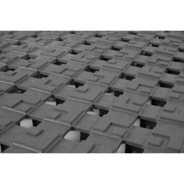 #558 ErgoDeck Flooring Comfort Open Grid close up