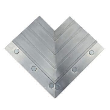 ErgoDeck Aluminum Ramp Inside Corner