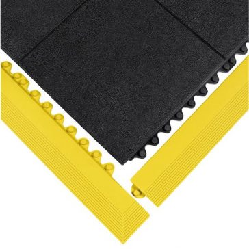 24/Seven Solid Matting Yellow Border