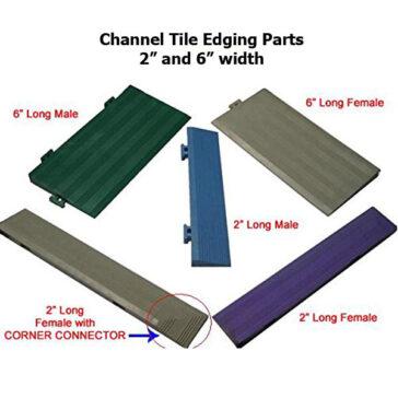 Channel Tile Edging Parts