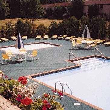 Channel Drainage Tile Poolside