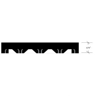 Channel Drainage Tile Profile