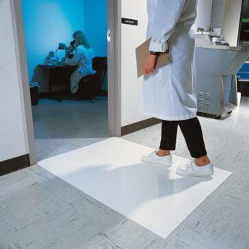 Clean Room Mat White