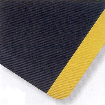 UltraSoft Corrugated Spongecote Black/Yellow Border