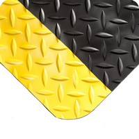 Diamond-Plate Spongecote Plate Yellow