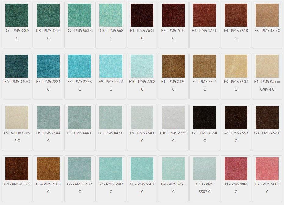 DigiPrint HD Color Palette D7-H2