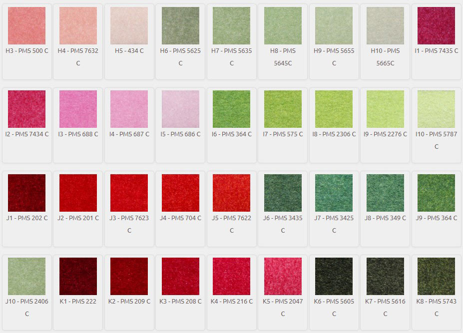 DigiPrint HD Color Palette H3-K8