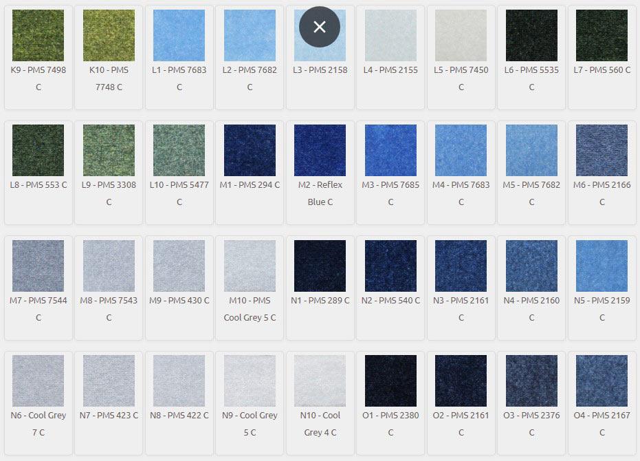 DigiPrint HD Color Palette K9-O4