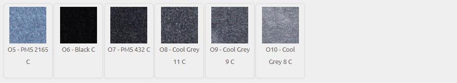 DigiPrint HD Color Palette O5-O10