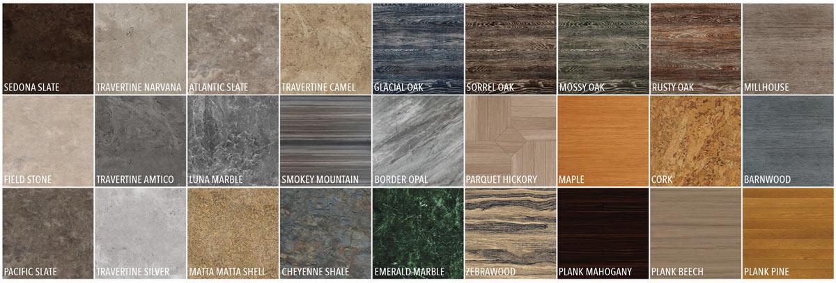 Flexi-tile Luxury Colors