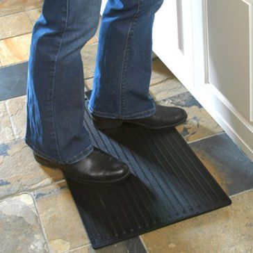 Comfy Foot Warmer Heated Doormat