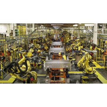 Foundation Platform Smooth Robotic Plant