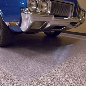 G-Floor Clear parking pad