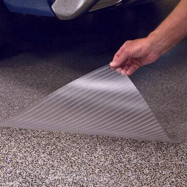 G-Floor Clear Floor Protector - Ribbed