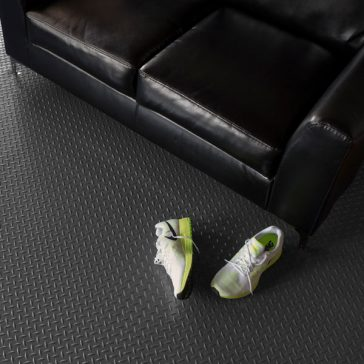 G-Floor Diamond Flooring Mancave