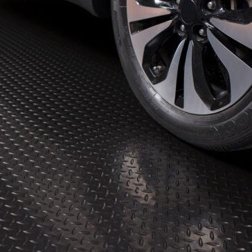 G-Floor Roll Out Garage Flooring Diamond Pattern
