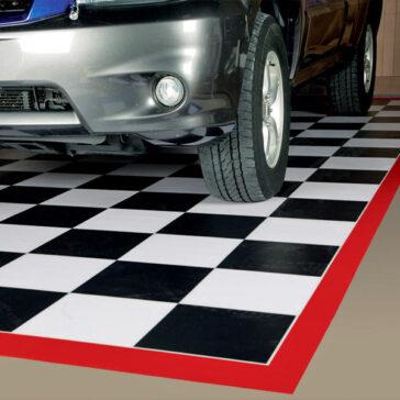 G-Floor Checkerboard Parking Pad