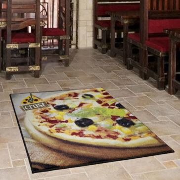 Grand Impressions Logo Mat Pizza