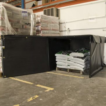 Powerblanket Bulk Material Warmers preheat on-site materials