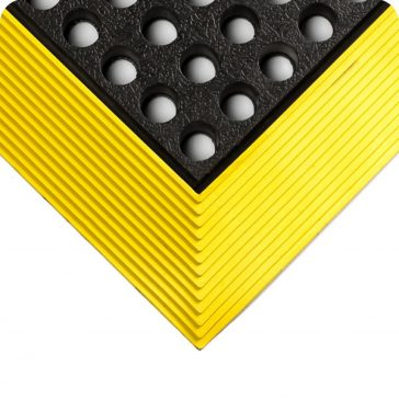 Industrial Worksafe Drainage Yellow Border