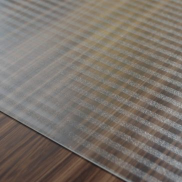 Designer Floor Protector - Linear Design for Hard Floors