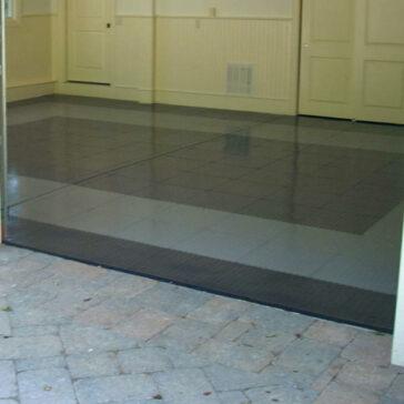 Locktile interlock flooring edging