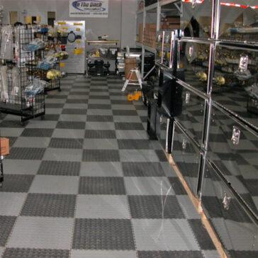 Locktile interlock flooring for industrial use