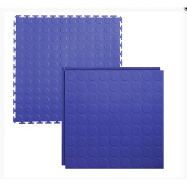 Lock-tile interlocking tiles coin