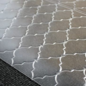 Designer Floor Protector - Moresque Design for Carpets