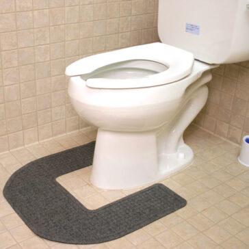 Restroom Commode Mat