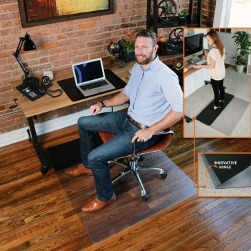 Sit or Stand Office Chair Mat
