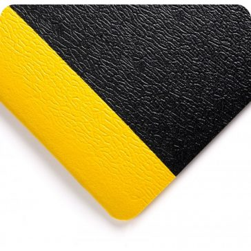 Soft Step Sponge Mat Yellow Safety Border