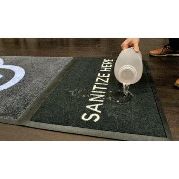 StepWell Sanitizing Mat - Disinfectant Liquid