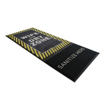 StepWell Sanitizing Mat - Yellow Safety Border