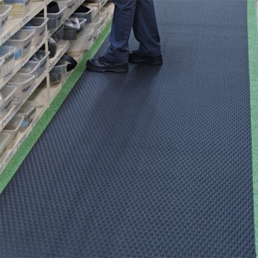 Traction Tread Rubber Flooring