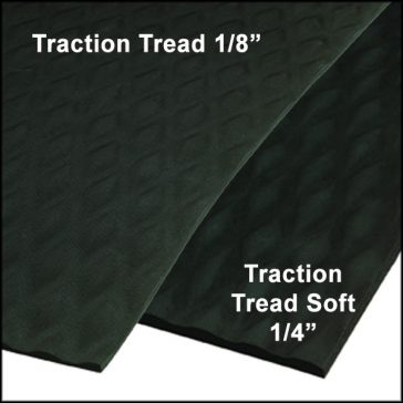 Traction Tread Runner Thicknesses