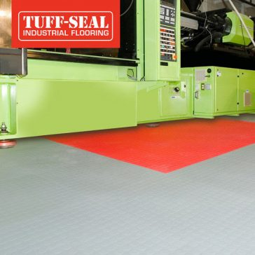 Tuff-Seal Floor Tile for Warehouse Facilities