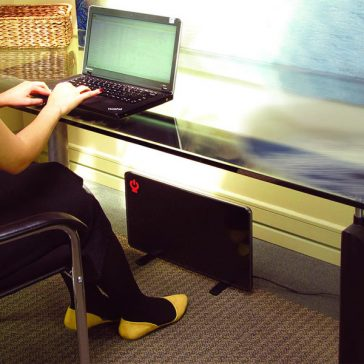 Comfy Legs Heated Panel under desk