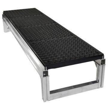 "Foundation Platform Diamond Plate Kit - 12"""