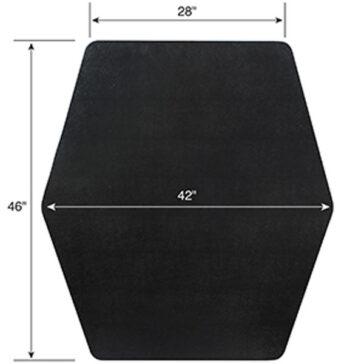 Game Zone Hexagon shape