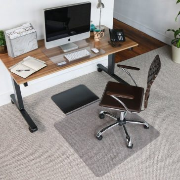 Sit or Stand Chair Mat with lip