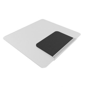 Sit or Stand Chair Mat with lip folded