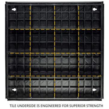 Foundation Smooth Tile Underside
