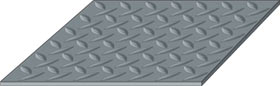 G-Floor Diamond Tread Pattern